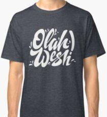 Olah Wesh (Lettering) Classic T-Shirt