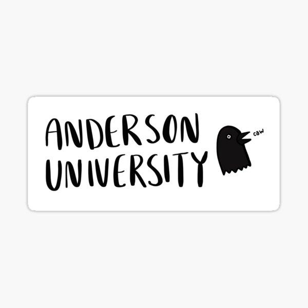 Anderson University *caw* Sticker