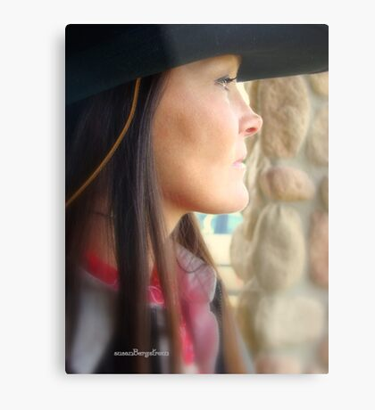 Woman Of The West Metal Print