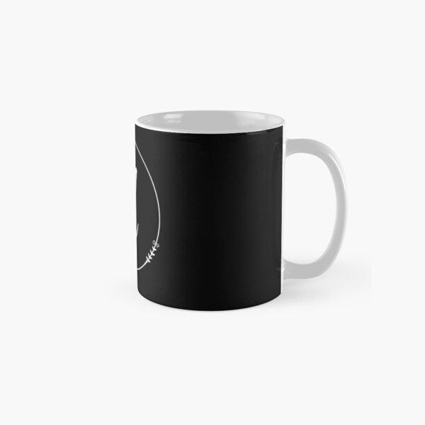 Black and White Initial A  Classic Mug