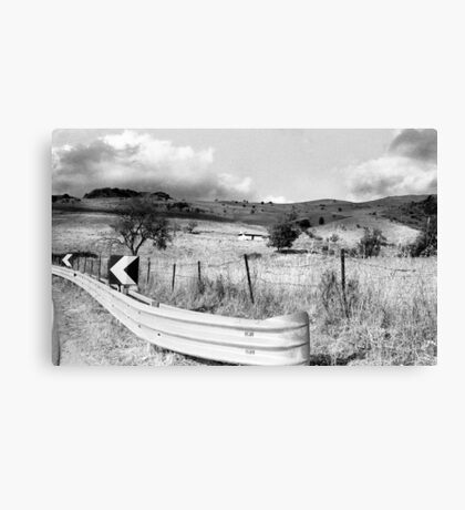 Keep On The Left Side Canvas Print