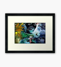 In the Twinkling of an eye  Framed Print