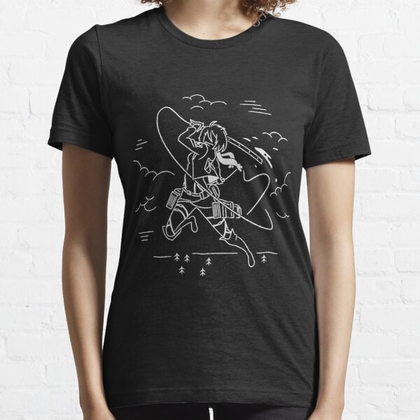 Mikasa Ackerman - Attack on Titan Essential T-Shirt