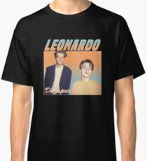 Leonardo DiCaprio Retro Print Design Classic T-Shirt