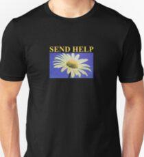 send help yellow Unisex T-Shirt