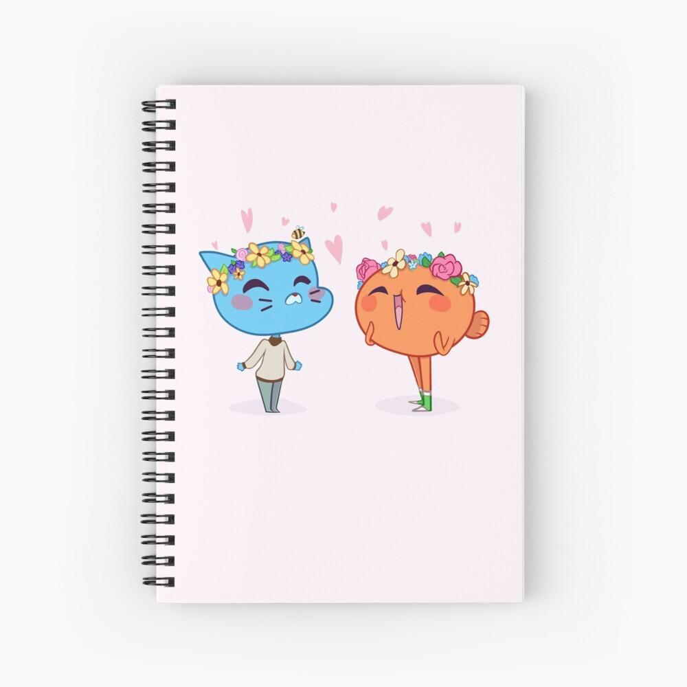 Flower Boys Spiral Notebook