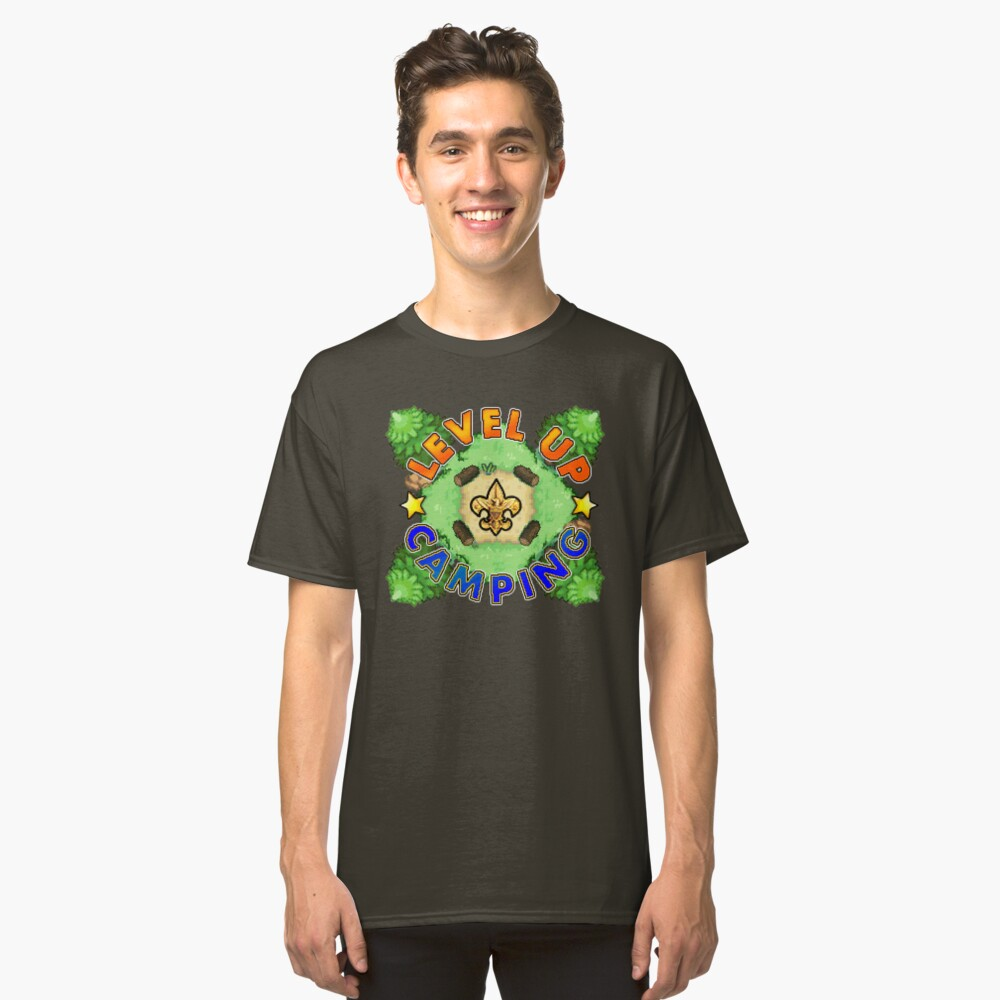 Level Up Camping Classic T-Shirt