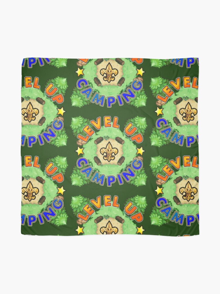 Alternate view of Level Up Camping Scarf