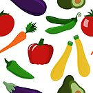 Healthy Vegetables by Pamela Maxwell