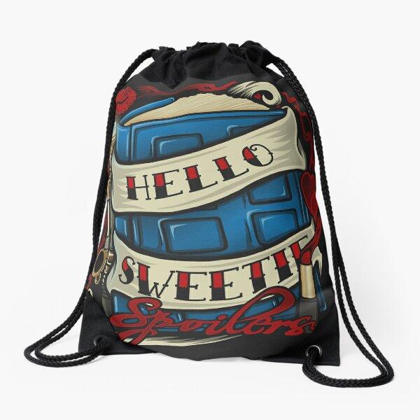 Hello Sweetie Drawstring Bag