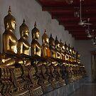 Buddha in a Row by britbird
