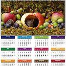 cute mouse 2019 Calendar by Simon-dell