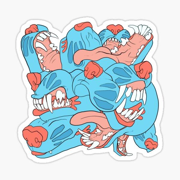 MUZZLE MESS PATTERN Sticker