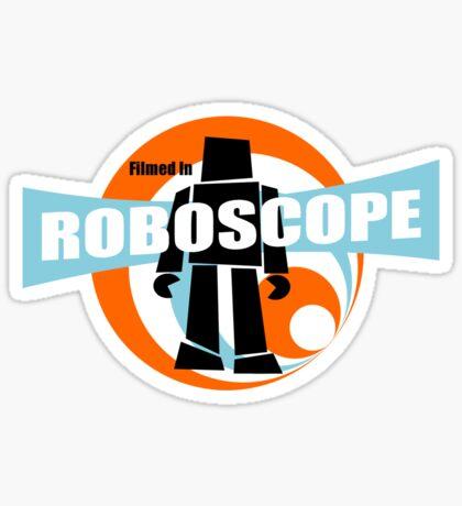 Filmed in Roboscope Sticker