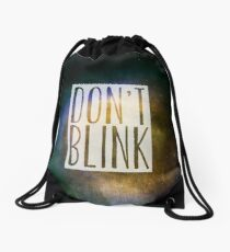 Doctor Who - Don't Blink Drawstring Bag