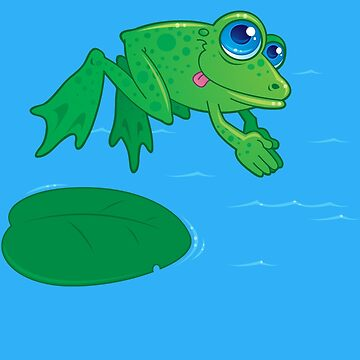Diving Frog by fizzgig