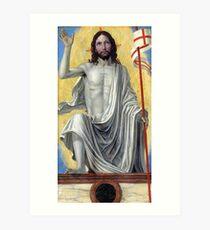 Ambrogio Bergognone Christ Risen from the Tomb Art Print