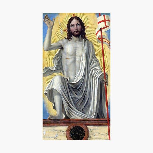 Ambrogio Bergognone Christ Risen from the Tomb Photographic Print