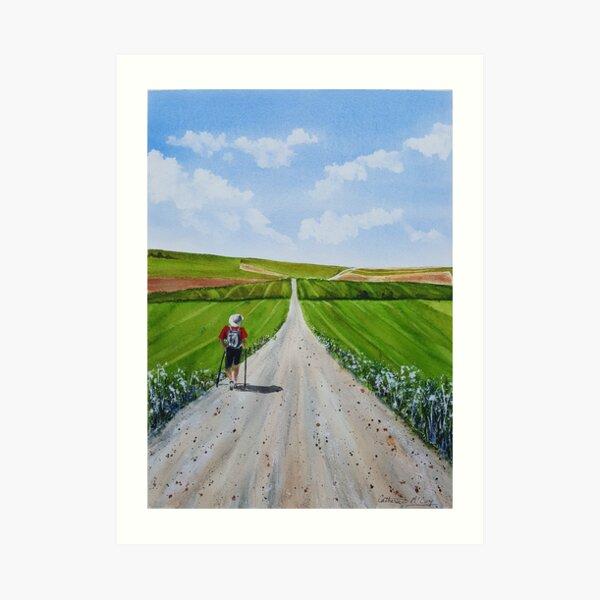 The Long Road to Santiago Art Print