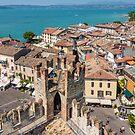 Sirmione on Lake Garda Italy  by Chris Warham