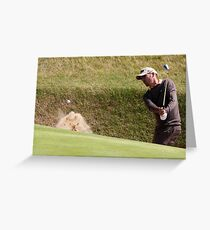 Out Of the bunker Greeting Card