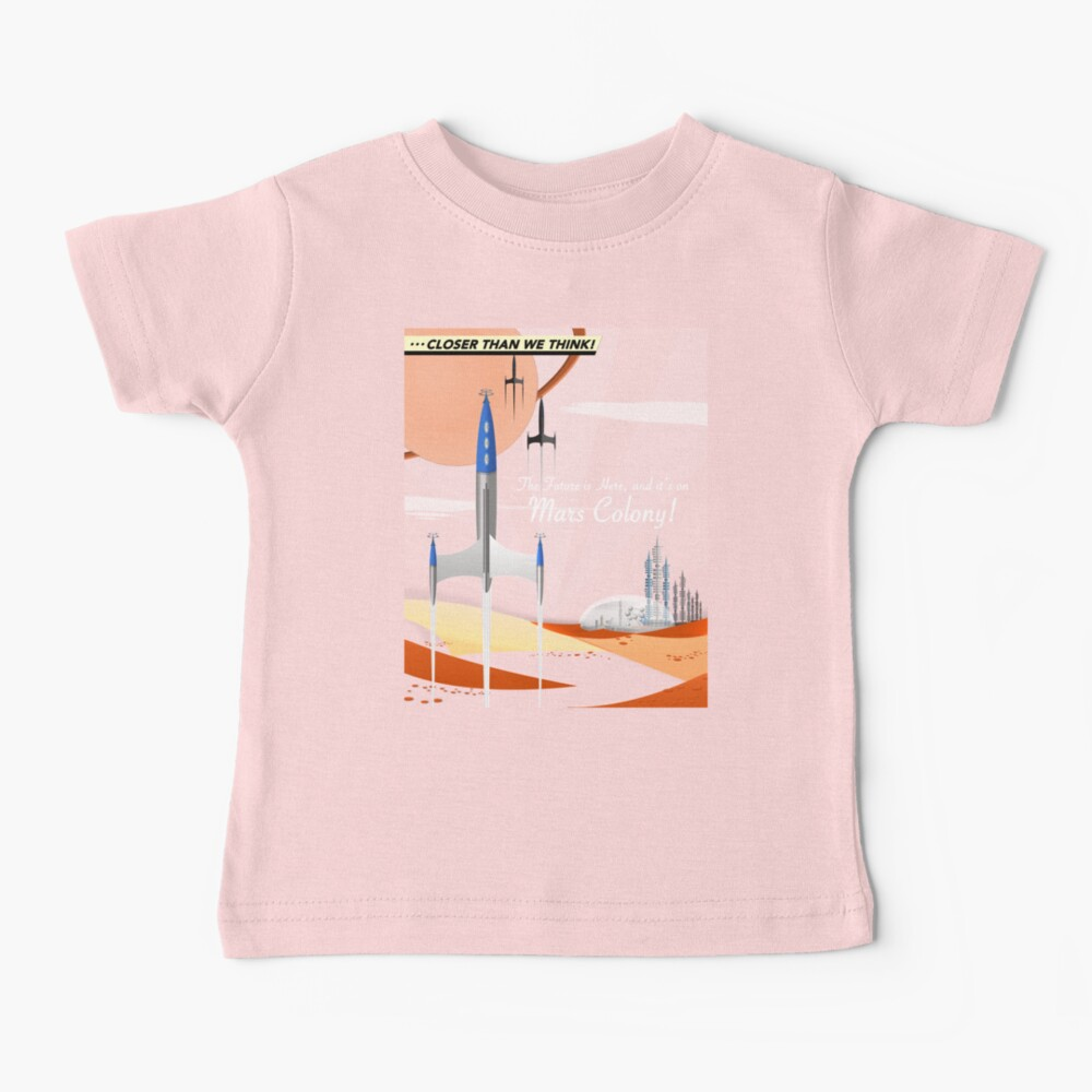 Mars Colony Baby T-Shirt