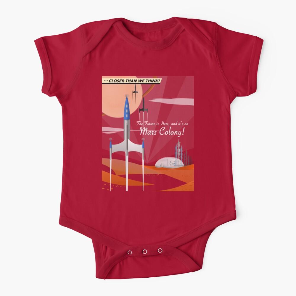 Mars Colony Baby One-Piece
