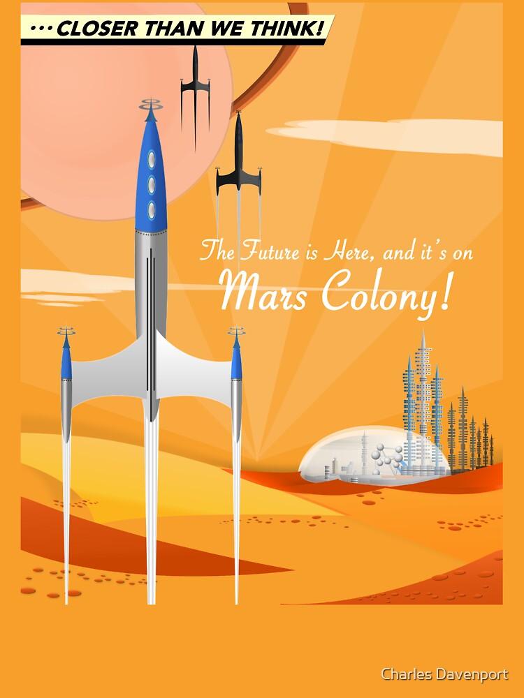Mars Colony by cdavenport4