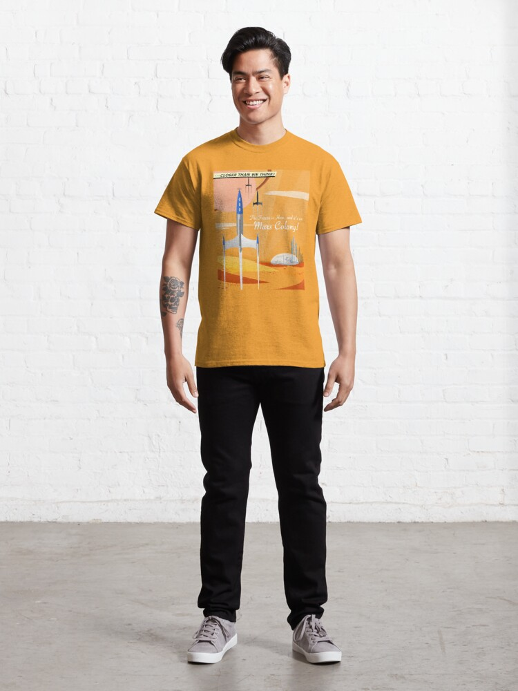 Alternate view of Mars Colony Classic T-Shirt