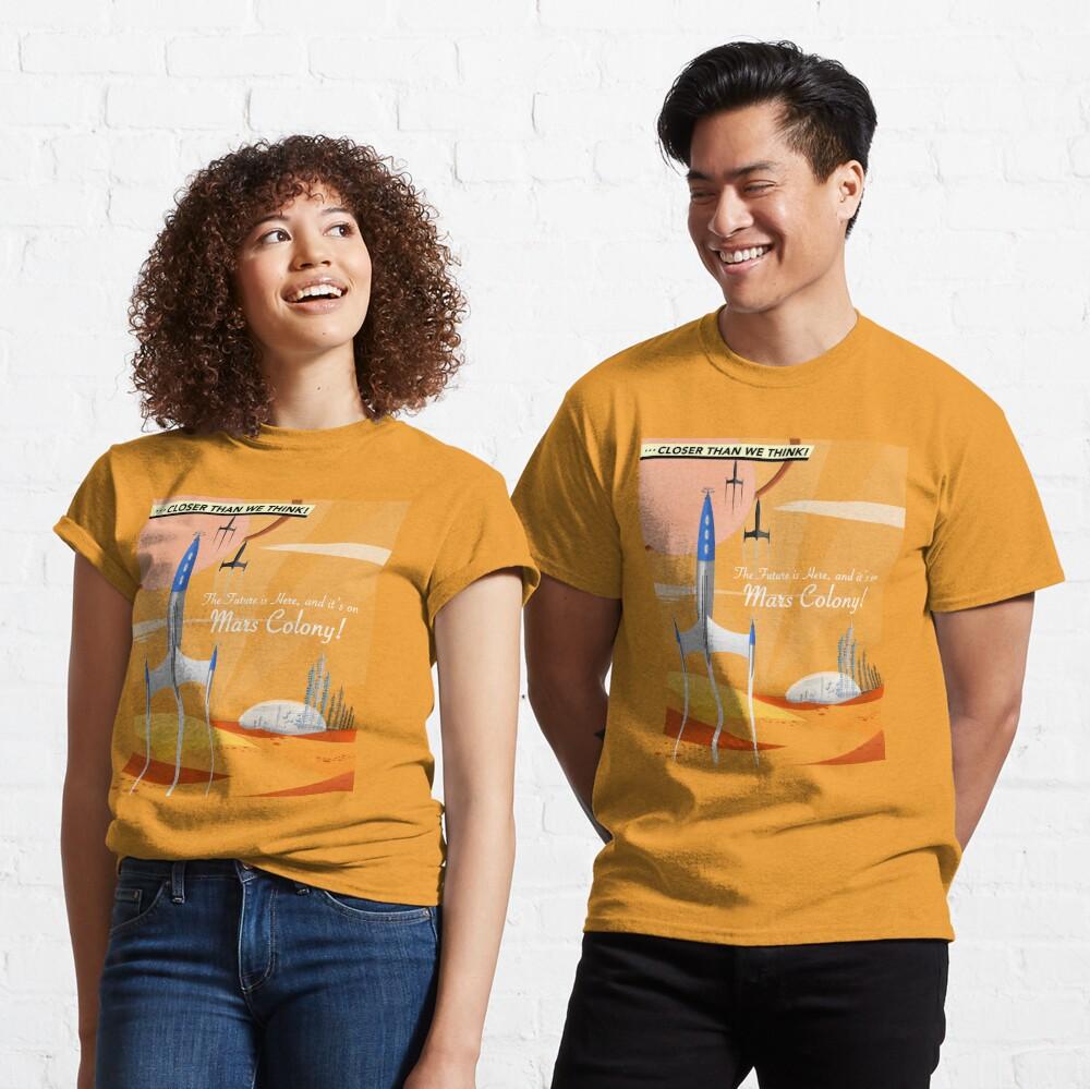 Mars Colony Classic T-Shirt
