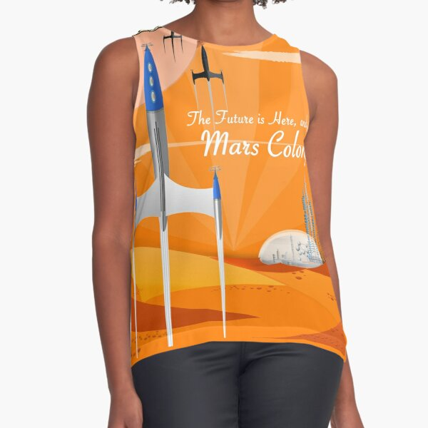 Mars Colony Sleeveless Top