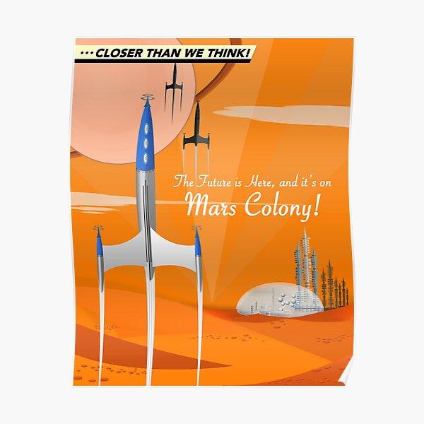 Mars Colony Poster