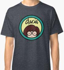 Daria (yellow background) Classic T-Shirt