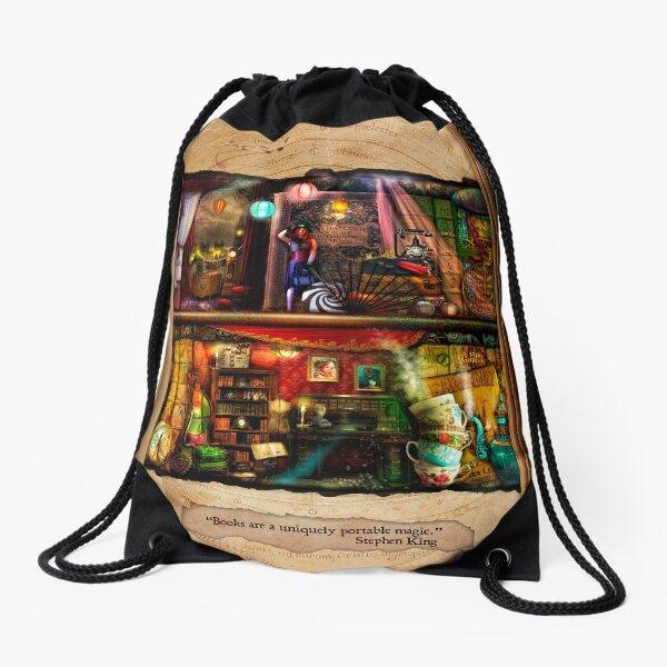 The Curious Library Calendar - September Drawstring Bag