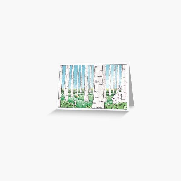 Hide and Seek Card Greeting Card