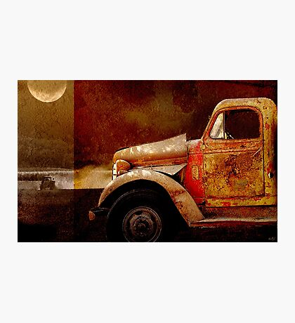 Harvest Moon Photographic Print