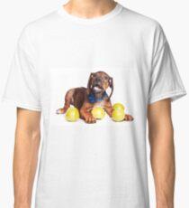 Funny red Ridgeback puppy Classic T-Shirt