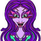 Cartoon Medusa by Muxette