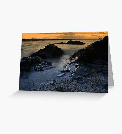 Autumn view of Skerries Greeting Card