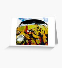 Hippy Trippy Greeting Card