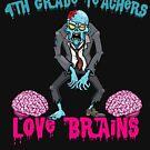 4TH GRADE Teachers Love Brains by teerich