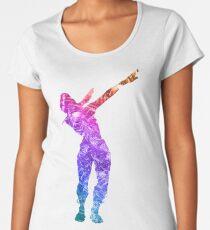 Fortnite Battle Royale Dab GFX Women's Premium T-Shirt