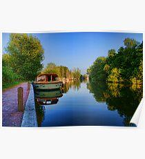 River Bure at Wroxham, Norfolk, UK Poster