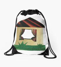 Rural house Drawstring Bag