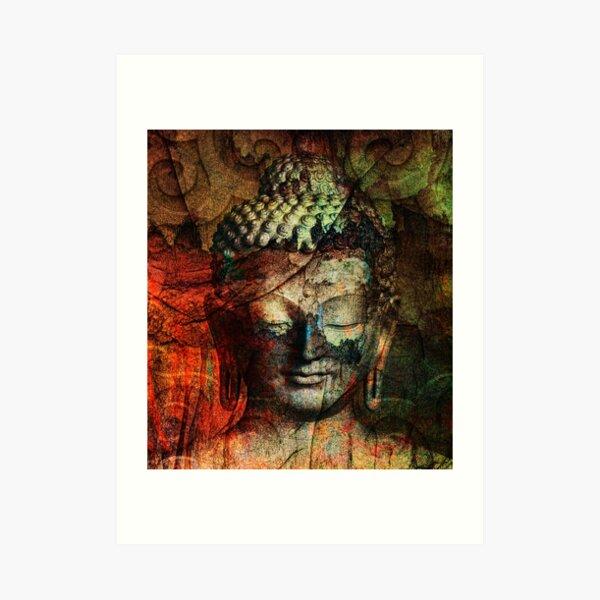 Sit in Silence Art Print