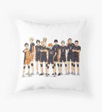 Haikyuu!!- Karasuno Throw Pillow