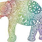 «Mandala elefante» de NicoleHarvey