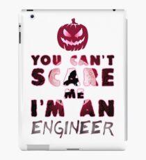 Ingenieur Kürbis Halloween Geschenk Geschenkidee iPad-Hülle & Klebefolie
