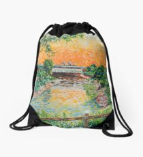 '...uncanny nostalgia...', St. Philips Greenway Drawstring Bag