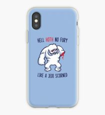 Hell Hoth No Fury... iPhone Case
